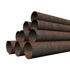 Free Old Rusty Pipes Royalty Free Stock Images - 6702099