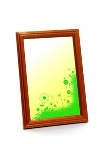Free Wooden Frame Royalty Free Stock Photography - 6702207