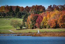 Free Colorful Autumn Landscape Stock Photo - 6702740