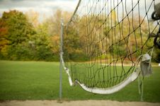 Free Old Volleyball Net Stock Photos - 6702783