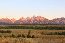 Free The Grand Teton National Park Royalty Free Stock Photos - 6703108