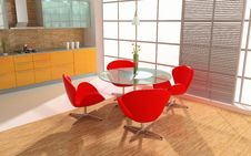Free Modern Interior Royalty Free Stock Images - 6704859