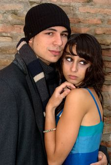 Free Loving Couple 04 Royalty Free Stock Image - 6705346