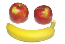 Free Apple Macintosh And Banana Stock Image - 6706541