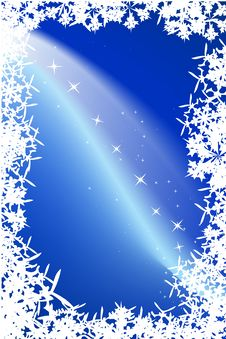 Free Blue Background With Stars Stock Photo - 6706710