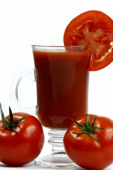 Free Tomato Juice Royalty Free Stock Photo - 6707325