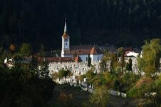 Old Church In Brasov Romania Stock Photography