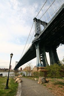 Free Manhattan Bridge Stock Photos - 6708633