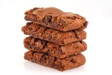 Brownie Cookies. Stock Images