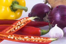 Free Vegetables. Stock Images - 6708944