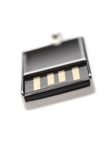 Silver USB Stock Image