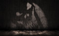 Free Grunge Background With Shadow In The Shape Of A Skull Royalty Free Stock Image - 67025726