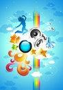 Free Creative Music Engine Royalty Free Stock Photography - 6719657