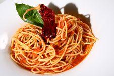 Free Pasta Served Stock Photos - 6710643