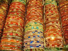Free Traditional Indian Bangles Royalty Free Stock Image - 6711256
