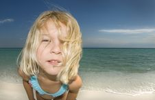 Free Child On Beach Close-Up Royalty Free Stock Photo - 6712325
