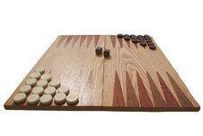 Backgammon Ready To Play Stock Photo