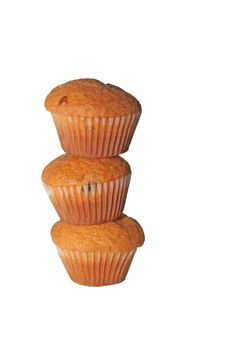 Free Stack Of Muffins Stock Photos - 6712623