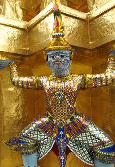 Free Grand Palace, Bangkok Stock Image - 6712981