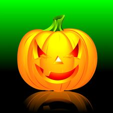 Free Vector Illustration On A Halloween Theme Stock Photos - 6713283