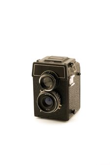 Free Retro Medium Format Camera Royalty Free Stock Images - 6713429