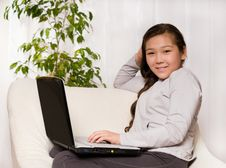 Free Girl With Notebook Royalty Free Stock Image - 6713826