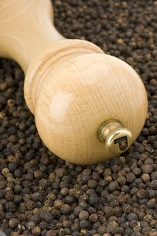 Pepper Mill Royalty Free Stock Images