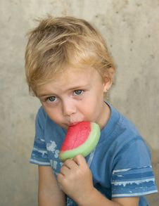Free Boy With Icecream Stock Photos - 6714553