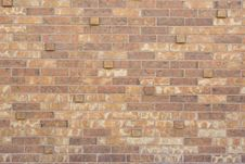 Brick Pattern With Uneven Surface Royalty Free Stock Photos