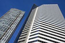 Free Modern Architecture - Michigan Avenue Stock Photo - 6715640