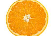 Free Slice Of Orange Stock Photography - 6715862