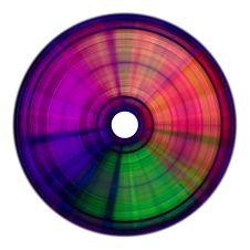 Free Rainbow Compact Disc Royalty Free Stock Photos - 6715948