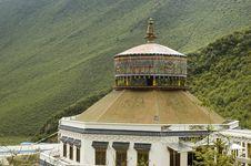 Free Tibetan Architecture In Yunnan Stock Photo - 6716130