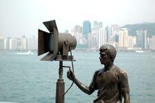 Hongkong - Avenue Of Stars Royalty Free Stock Images