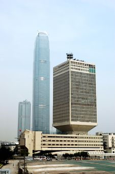 Free Hongkong - Highest Building Royalty Free Stock Image - 6716146