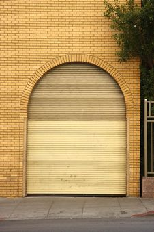 Free Rolling Garage Door Stock Photos - 6716203