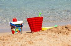 Free Beach Toys Stock Photos - 6716413