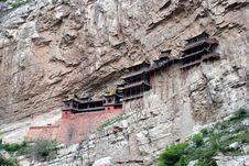 Free Xuan Kong Temple Of ShanXi China Royalty Free Stock Image - 6716476