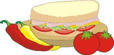 Free Sandwich Royalty Free Stock Image - 6716886