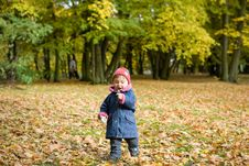 Free Baby Girl In Park Stock Photos - 6718663