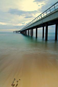 Free Summer Pier Royalty Free Stock Photos - 6718668