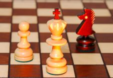 Free Game In A Chess Royalty Free Stock Photo - 6718825