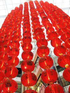Free Chinese Lanterns Royalty Free Stock Photos - 6718878