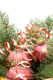 Free New Year S And Christmas Decoration Royalty Free Stock Images - 6719609