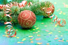 Free New Year S And Christmas Decoration Royalty Free Stock Photos - 6719658