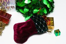 Free Christmas Stocking Royalty Free Stock Photography - 6719937