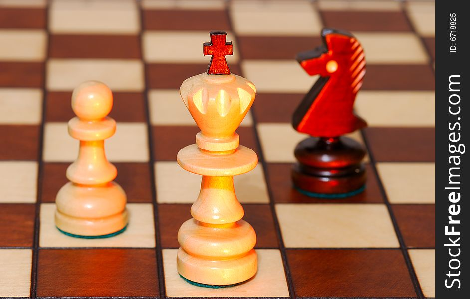 Game in a chess