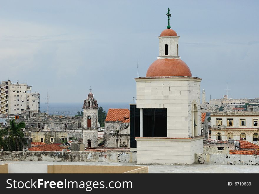 Churches and Roofs of Havana
