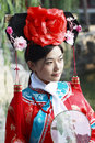 Free Classical Beauty In China. Stock Photography - 6724212