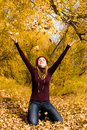Free Happy Girl In The Park Stock Photo - 6728540